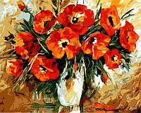 Картина по номерам Brushme 40х50 Маки, худ. Л. Афремов (GX6744), фото 1