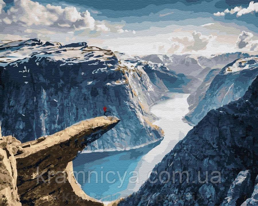 Картина по номерам Brushme 40х50 Норвегия, Язык Троля (GX32326)