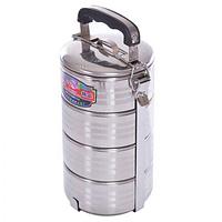 Контейнер пищевой металлический 4шт / наб, H11886