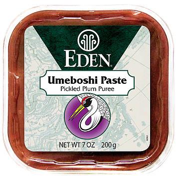 Eden Foods, Selected, Умебоши Паста, Пюре из Маринованных Слив 7 унции (200 г)