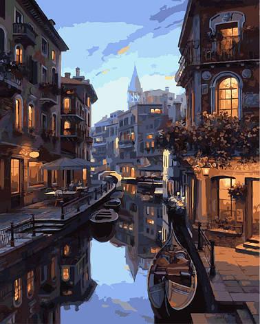 """Картина по номерам. Brushme """"Ночная Венеция"""" GX7673, фото 2"""