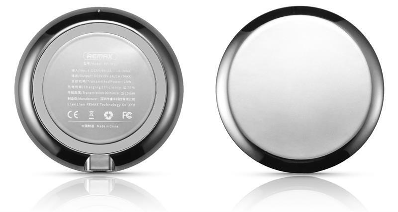 Беспроводное ЗУ Remax Linon wireless charger 10W, silver