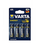 Батарейка VARTA Energy R-6 AA Блистер (алкалайн) 4шт / уп. 80шт. / Уп Ш.К. 4008496626410