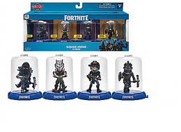 Колекційна фігурка Jazwares Domez Fortnite Launch Squad (4 фігурки в наборі)