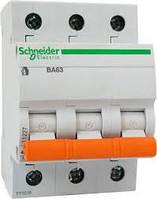 Автоматический выключатель Schneider 3P 4,5 кА C32А