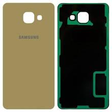 Задняя крышка Samsung Galaxy A5 (2016) A510F золотистая