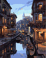 """Картина по номерам. Brushme """"Ночная Венеция"""" GX7673"""