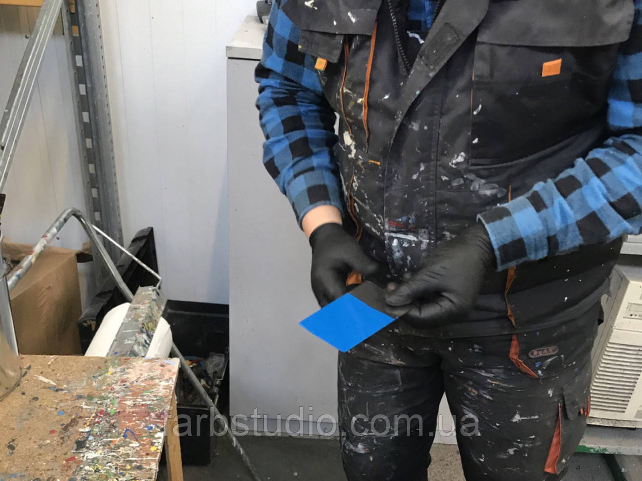 Антикоррозийная грунтующая эмаль Haeralkyd 1К K5 для защиты металлических поверхностей Haering, Германия