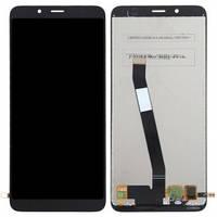 Дисплей Xiaomi Redmi 7A с сенсором (тачскрином) черный