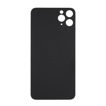 Задня кришка для Apple iPhone 11, чорна, фото 2