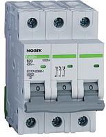 Модульный автоматический выключатель 6 kA, характеристика C, 63 A, 3 полюса
