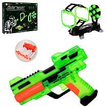 Набор детского оружия - пистолет с мишенью и светится в темноте, B2160