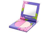 Цветочные румяна Lilac Duos BH Cosmetics. Оригинал