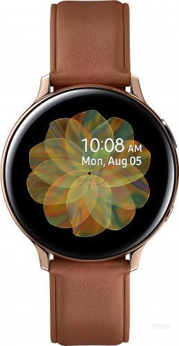 Смарт-часы Samsung Galaxy watch Active 2 Stainless steel 44mm (R820) GOLD