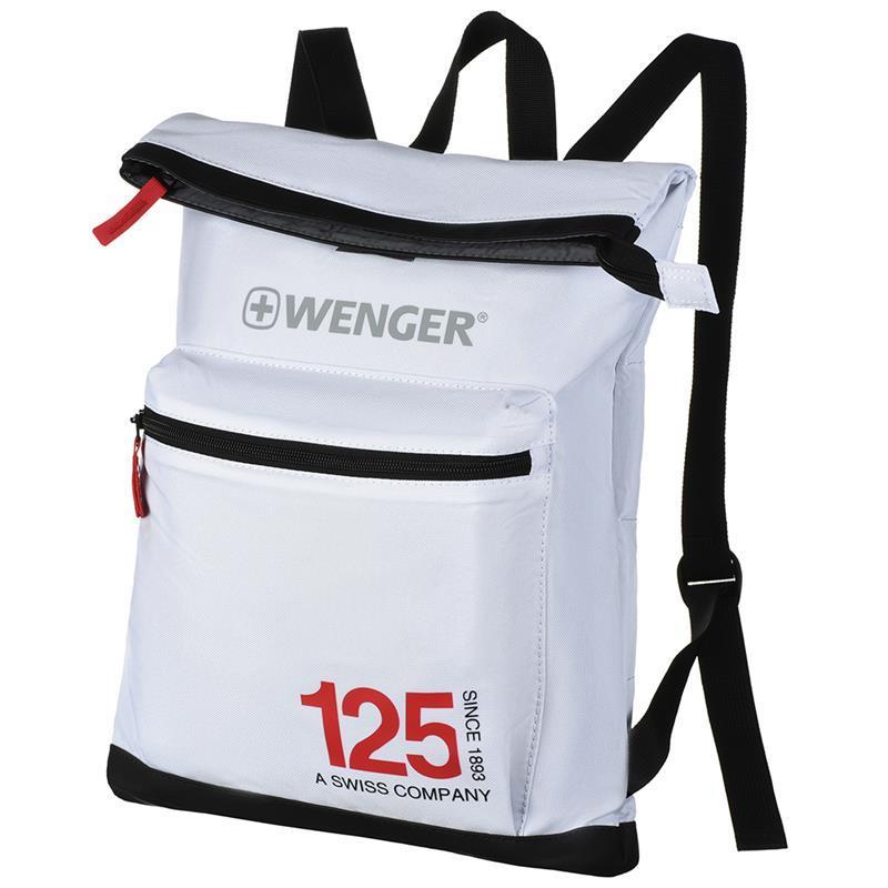 Спортивный рюкзак Wenger 125th, белый (605786)