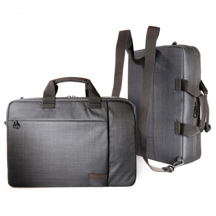 """Сумка-рюкзак Tucano Svolta Convertible Bag 15.6"""" (чёрная)"""