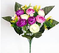 Роза мелкая-3 х цветная