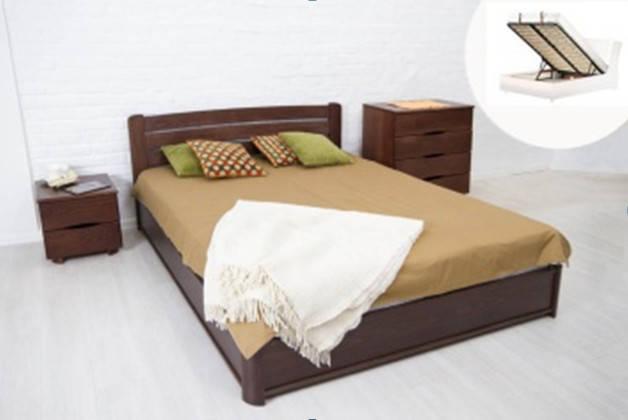 Кровать София 1,80 м. (с подъём. мех.) (ассортимент цветов) (Бук), фото 2