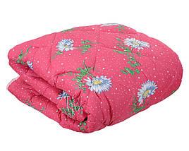 Одеяло летнее холлофайбер одинарное (поликоттон) Двуспальное T-51164, фото 3