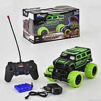 Джип на радиоуправлении Small Toys HB-YY 02003 на больших резиновых колесах Черно-зеленый (2-62831)