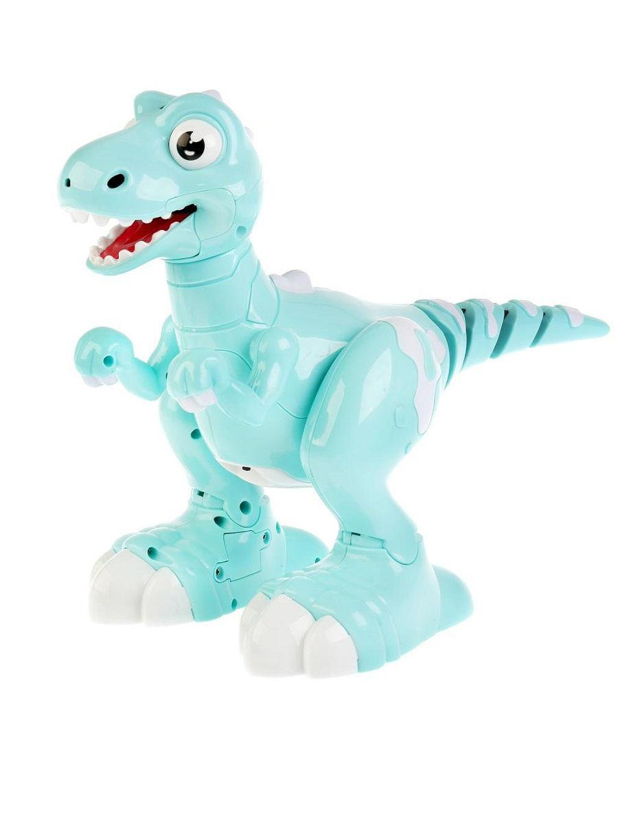Динозавр на р/у Jiabaile Бирюзовый (908B)