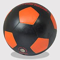 Футбольный мяч Jymindge Черно-оранжевый с LED подсветкой 5 (S_M_230919_05)