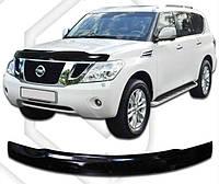 Дефлектор капота  Nissan Patrol с 2010,  Мухобойка Nissan Patrol