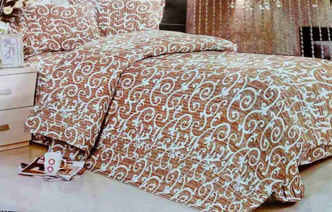 Комплект постельного белья от украинского производителя Polycotton Двуспальный T-90916, фото 2
