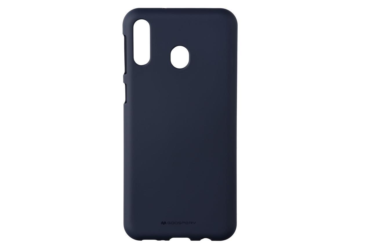 Чехол Goospery  для  Samsung Galaxy M20 (M205), SF JELLY, MIDNIGHT BLUE