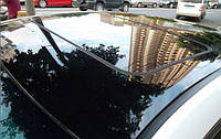 Глянцевая пленка черного цвета (Крыша под панораму) Суперглянец