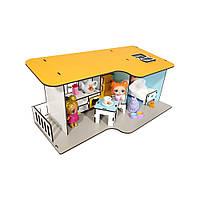 Кукольный Пляжный Домик мини + мебель в подарок