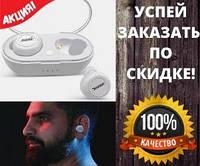 Беспроводные наушники Bluetooth BOSE TWS-2, Bluetooth наушники с боксом для зарядки (черного и белого цвета), фото 1