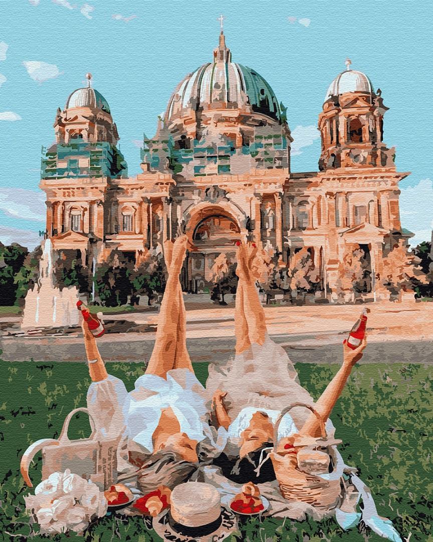 Картина по номерам Подружки у Берлинского собора 32327 40*50