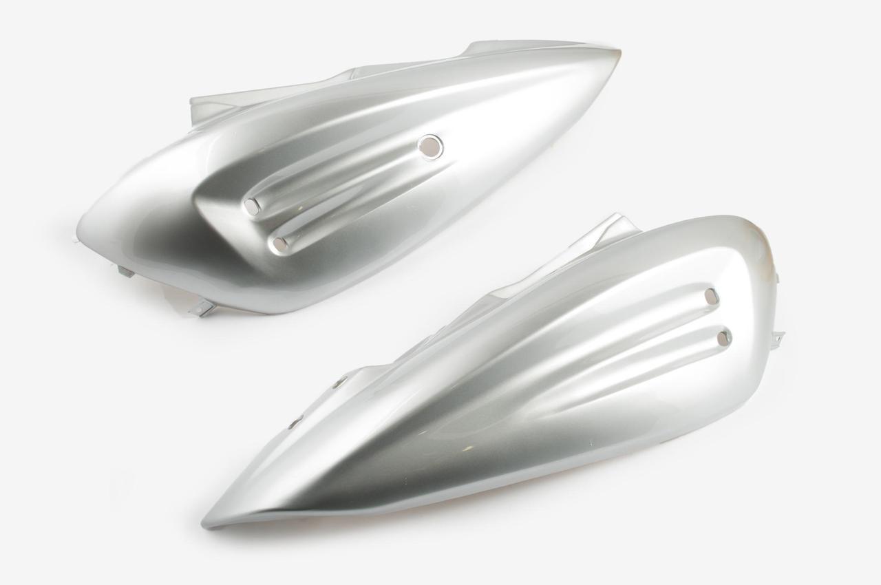 Пластик Зонгшен (Zongshen) Рейс (RACE) 2/4 задняя боковая пара (серый) KOMATCU