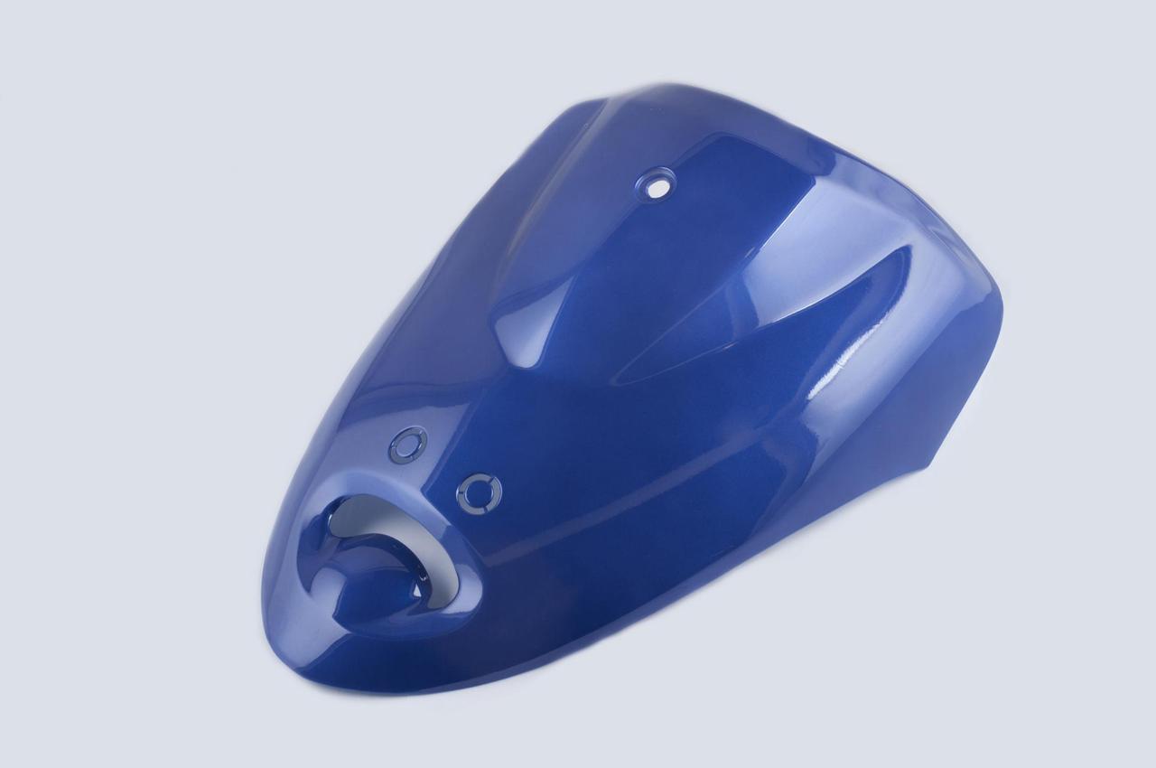 Пластик Зонгшен (Zongshen) Винд (WIND) передний (клюв) (синий) KOMATCU