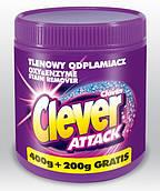 Кислородный пятновыводитель Clever Attack 600 + 150 гр