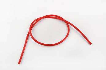 Бронепровод 5000мм (красный, силикон) DM