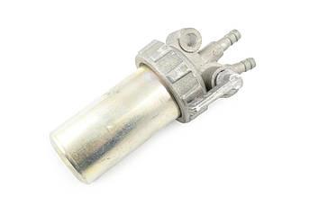 Кран топливный на Мотоблок 190N/195N (12/15 Hp Лошадиных Сил) (с фильтром) DIGGER