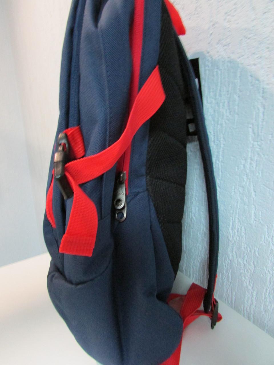 Рюкзак темно синий с ремнем prom ua рюкзаки