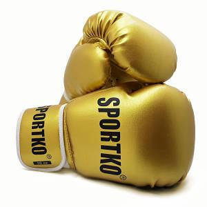 Боксерские перчатки ПД-1GOLD 10 унций.