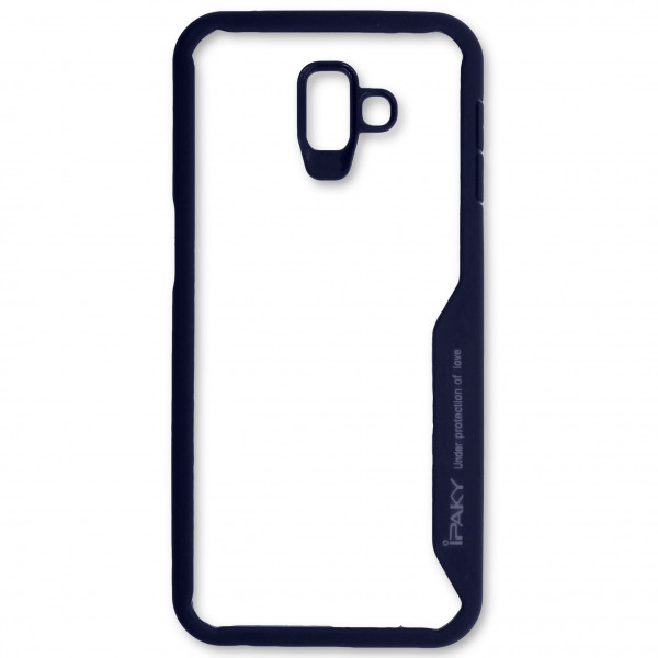 Чехол - накладка iPaky Under protection для Samsung J6 Plus Dark blue