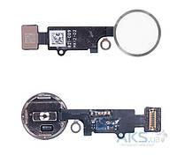 Шлейф Apple iPhone 7 / iPhone 7 Plus с кнопкой Home Original Black