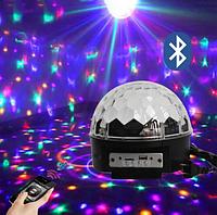 Диско-куля LED Magic Ball Light з Bluetooth, фото 1