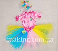 Карнавальный костюм конфетки для девочки