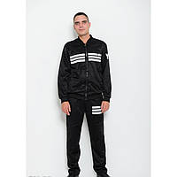 Спортивный костюм ISSA PLUS GN-02 черный - Оригинал