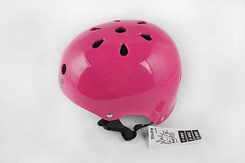 Мотошлем, Мотоциклетный шлем  райдера (Размер:M, малиновый) (США) S-ONE
