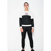 Спортивный костюм ISSA PLUS GN-138 белый/черный - Оригинал