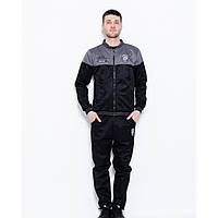 Спортивный костюм ISSA PLUS GN1-38 черный - Оригинал