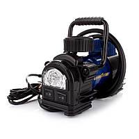 Компрессор автомобильный с фонарем GoodYear GY-35L (в прикуриватель) (электронасос для шин), фото 1