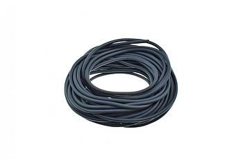 Шланг топливный Ø4мм 20м (черный, силикон) MZK